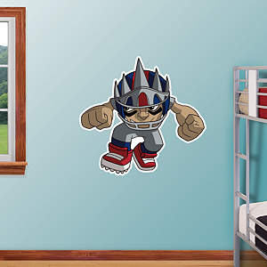 New York Giants Rusher Fathead Wall Decal